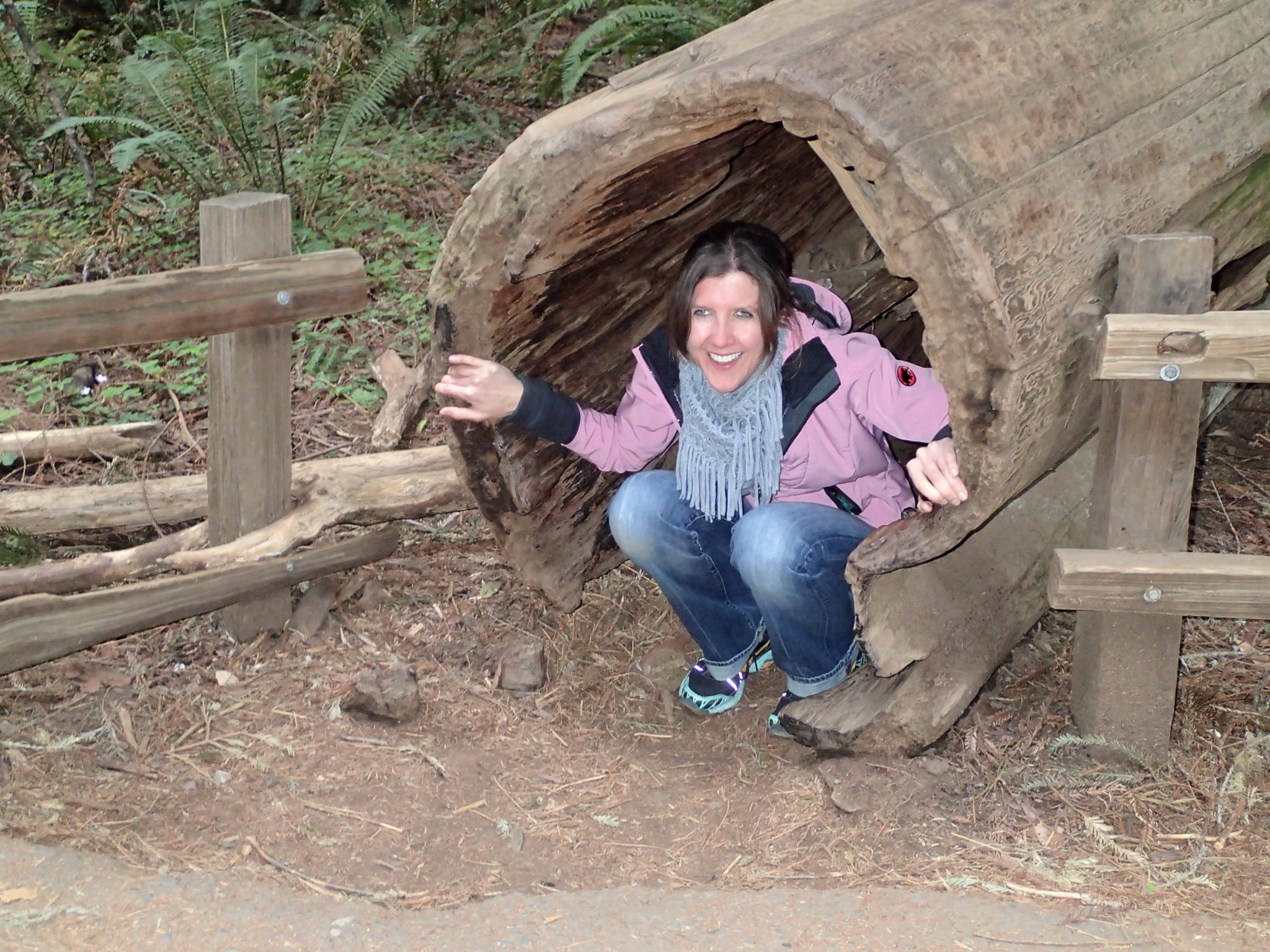 Susanne Martin at Muir Woods